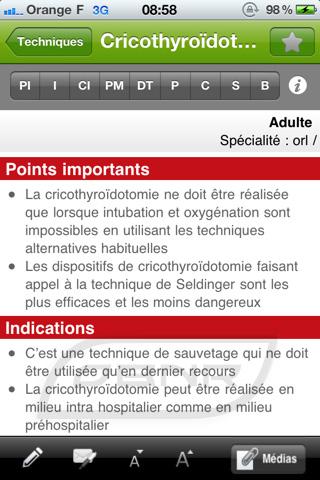 Techniques : Exemple fiche
